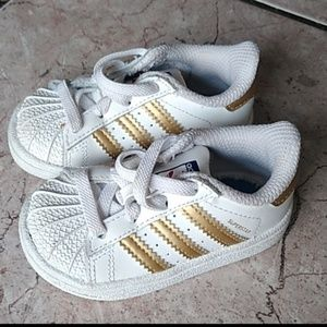 Baby Adidas Superstar Shoes - Unisex